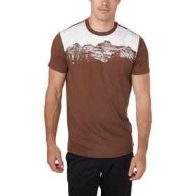 tentree Mountain Juniper T-shirt Homme, pinecone brown heather